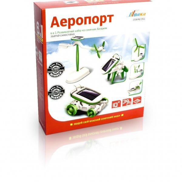 Аэропорт 6 в 1 – конструктор на солнечных батареях