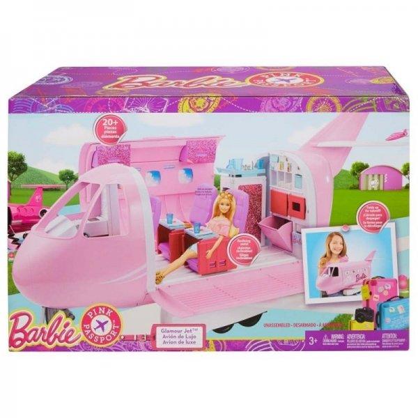 Игровой набор самолет Барби Самолет Barbie Pink Passport Jet