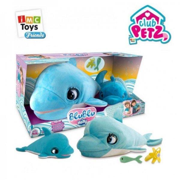 Интерактивный Дельфин Blu Blu и дельфинёнок Holly IMC