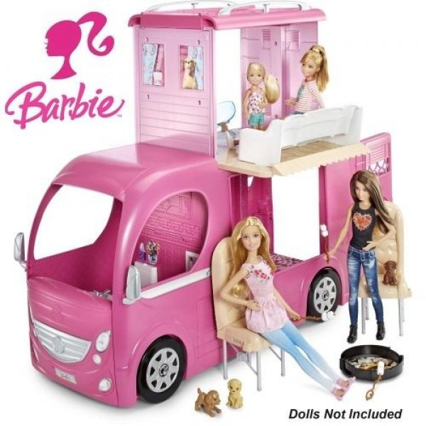 Автобус Barbie Pop-up Camper CJT42 фургон Барби