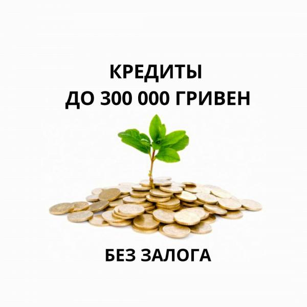 Кредиты в Киеве до 300 000 гривен