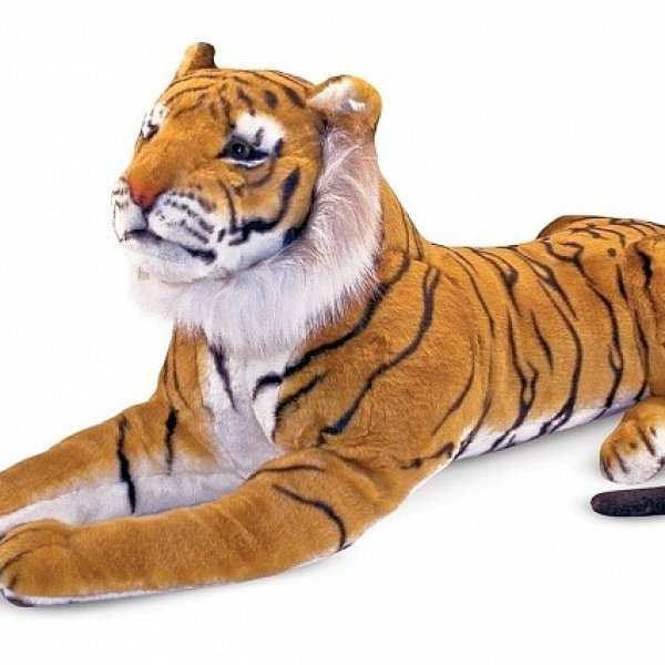 Большой плюшевый тигр ТМ Melissa&Doug
