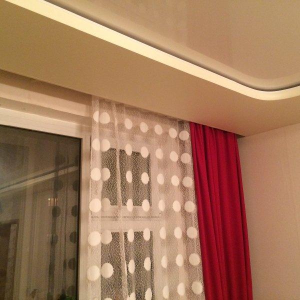 Натяжные потолки от 120 грн. м2. Полотна для жилых помещений.