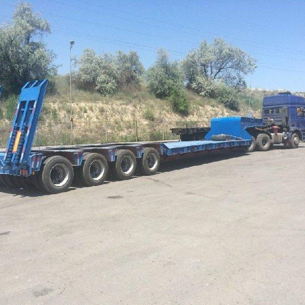 Перевозки негабарита по Украине - до 250 тонн.