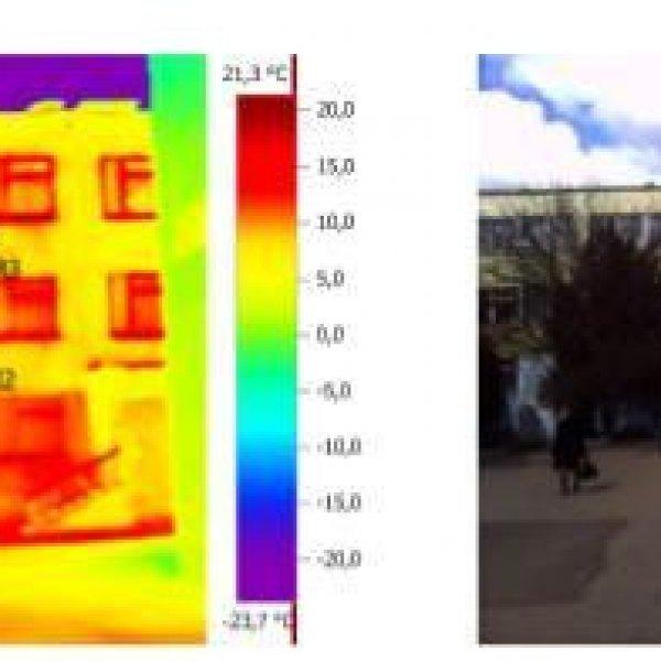 Енергетичний аудит, тепловізор, тепловізійне обстеження квартир
